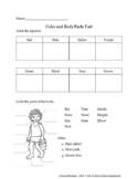 Color & Body Part Assessment