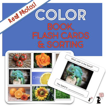 Color Book, Cards, & Related Activities