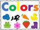 Color Book & Color Sorting Card Activity for Preschool FREE