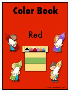 Color Book Emergent Reader:  Red