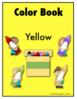 Color Book Emergent Reader:  Yellow