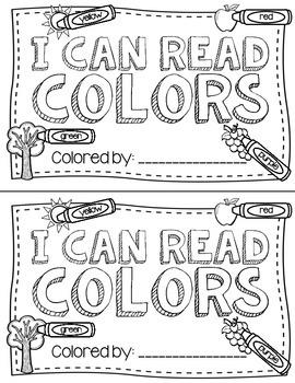 Color Book Freebie