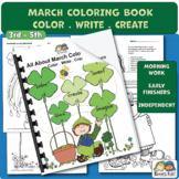 Color Book for March + Activities (Karen's Kids Printables)