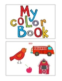 Color Book with cute graphics