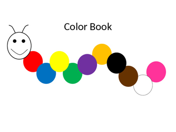 Color Book (works with Dr. Jean's Color Train song)