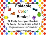 Color Books!  12 Foldable Emergent Readers