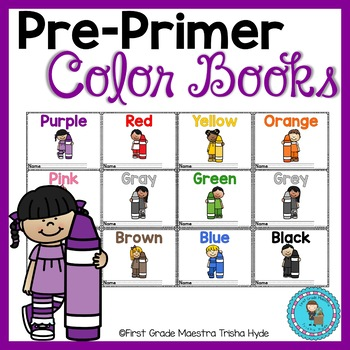 Color Books 12 mini books for learning colors | TpT