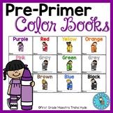 Color Books 12 mini books for learning colors