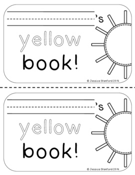 Color Books Bundle {Easy Sight Word Readers}