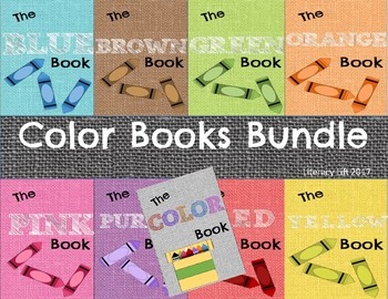 Color Books Bundle - Guided Reading Levels aa / A