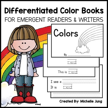 Color Books - Differentiated Pattern Books for Emergent Writers