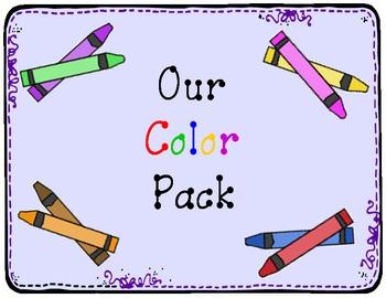 Color Books: Create 12 Class books! Leprechauns &  Rainbows TK, K, or Spec Ed.