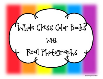 Color Books with Real Photographs