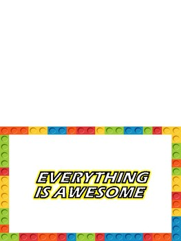 Color Brick Note Writing Paper