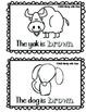 Color Brown Book