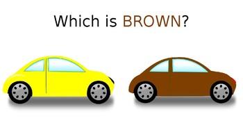 Color Brown Editable Preschool Slideshow Presentation