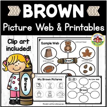 Color Brown Picture Web Activity