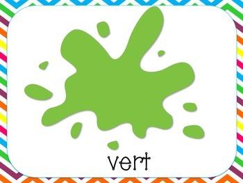 Color Burst- FRENCH VERSION! Custom Listing