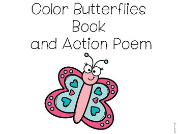 Color Butterflies Book Freebie