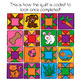 Color By 5's - Pets Themed Quilt  (5-100)