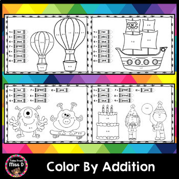 Color By Addition