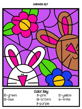 Color By Addition: Easter