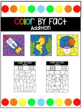 Color By Addition Fact