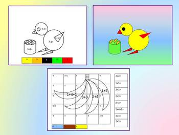 Color by Code - Addition and Subtraction