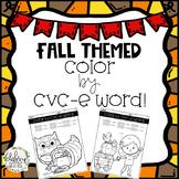 Color By CVC-e Word (Fall/Harvest Edition)