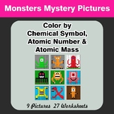 Color By Chemical Symbol, Atomic Number, Atomic Mass - Mon