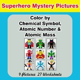 Color By Chemical Symbol, Atomic Number, Atomic Mass - Mys