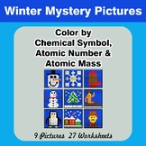 Color By Chemical Symbol, Atomic Number, Atomic Mass - Win