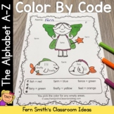 Color By Code A - Z Sight Words Alphabet Book