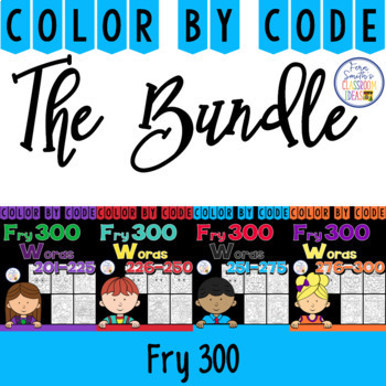 Color By Code Fry 300 Discounted Bundle