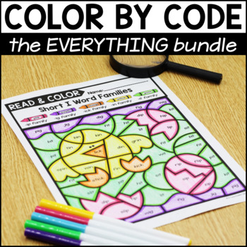 Color By Code GROWING Bundle