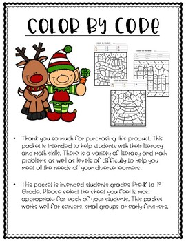 Color By Code Holiday Edition