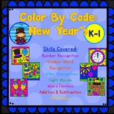 Color By Code: New Year's
