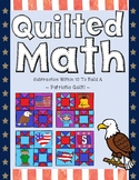 Color By Code - Patriotic Quilt (Subtraction within 10)