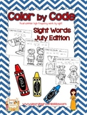 Sight Words color by code