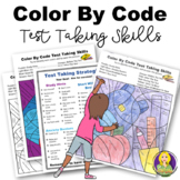 Test Taking and Study Skills Color By Code