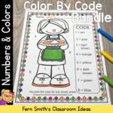 Thanksgiving Color By Code Know Your Numbers and Know Your