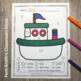Color By Code Transportation Shapes With Bonus Coloring Pages