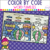 Color By Code- Word Families