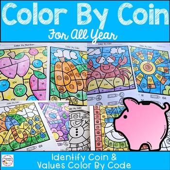 Color By Coin Bundle
