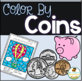 Money - Color By Coins Hidden Pictures Pack