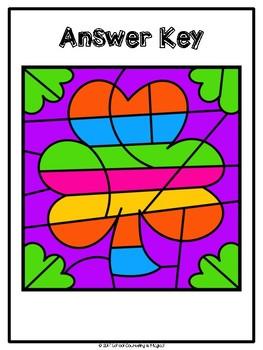 Color-By-Emotion (St. Patrick's Themed): Set #1