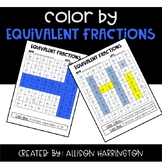 Color By: Equivalent Fraction