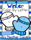 Color By Letter Decoding Activity {WINTER}
