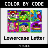 Color By Letter (Lowercase) - Pirates
