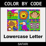 Color By Letter (Lowercase) - Safari